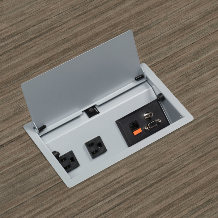 Desktop Power Outlet Utility Box