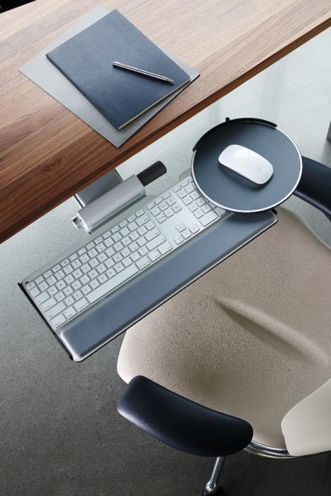 Keyboard Tray Mouse Pad
