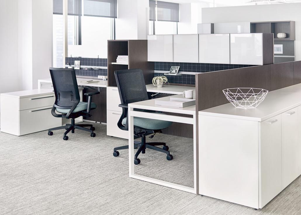 Workstation Desks Chairs Storage