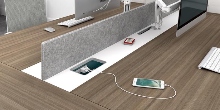 Desk Power Charging