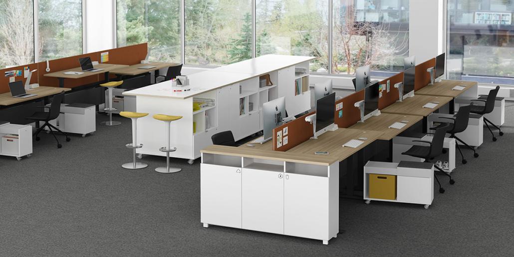 Office Storage Workstation Desks